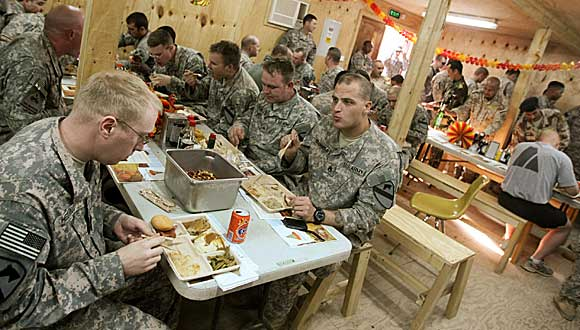 Military Food Service Definition